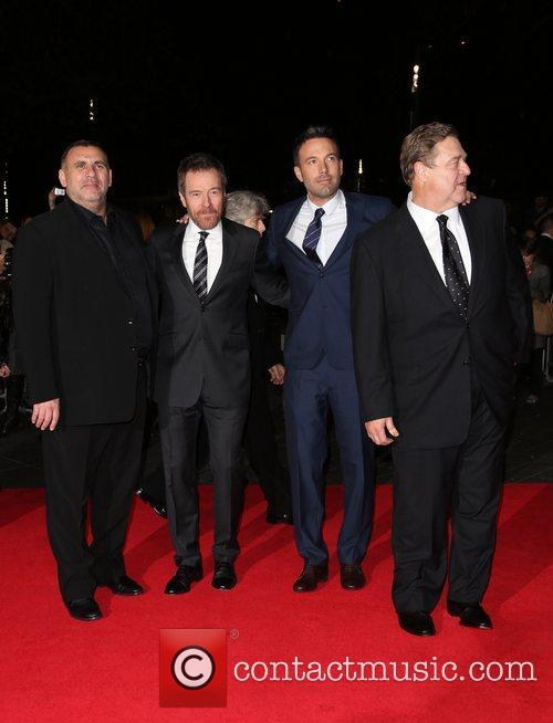 Graham King, Bryan Cranston, Ben Affleck and John...
