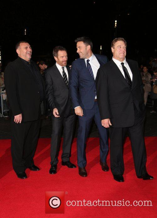 Graham King, Bryan Cranston, Ben Affleck, John Goodman, Odeon Leicester Square