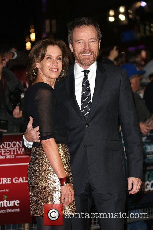 Robin Dearden and Bryan Cranston 56th BFI London...