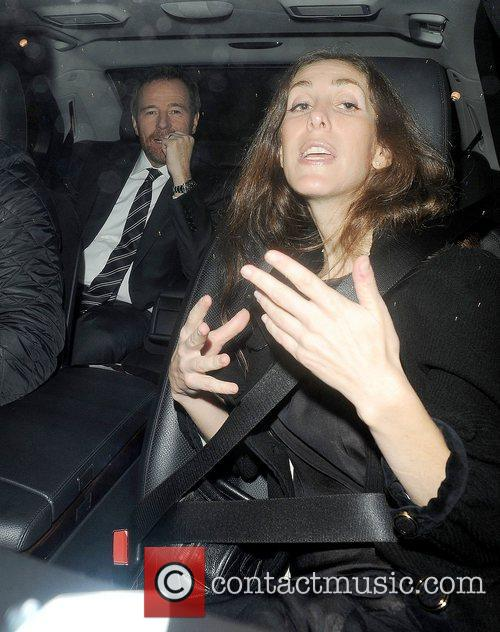 Leaves the Soho hotel to attend the 56th...