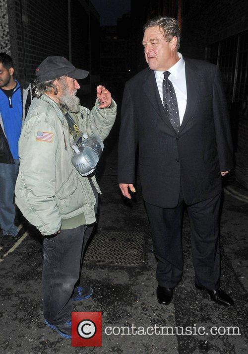 John Goodman speaks to Radioman leaves the Soho...