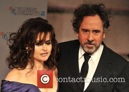 Helena Bonham-carter and Tim Burton 4