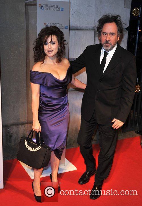 Helena Bonham-carter and Tim Burton 5