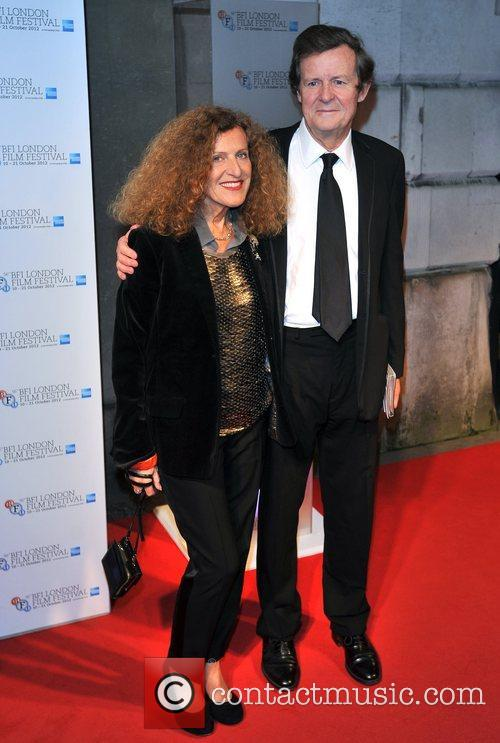 Nicole Farhi and Sir David Hare