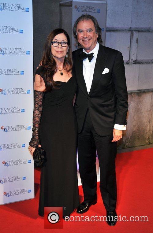 Victoria Pearman and guest BFI London Film Festival...