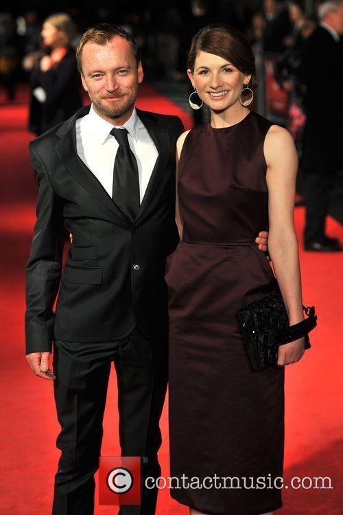 Richard Dormer and Jodie Whittaker 56th BFI London...