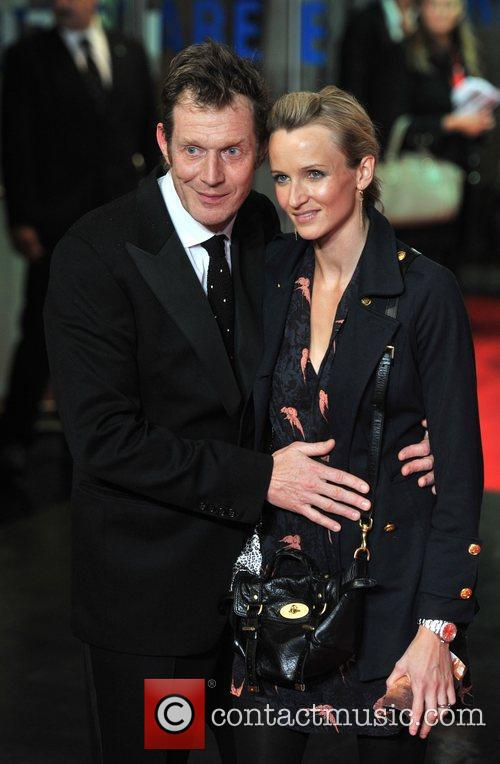 Jason Flemyng and guest 56th BFI London Film...