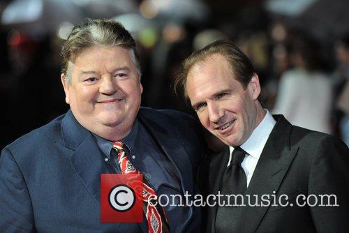 Robbie Coltrane and Ralph Fiennes 2