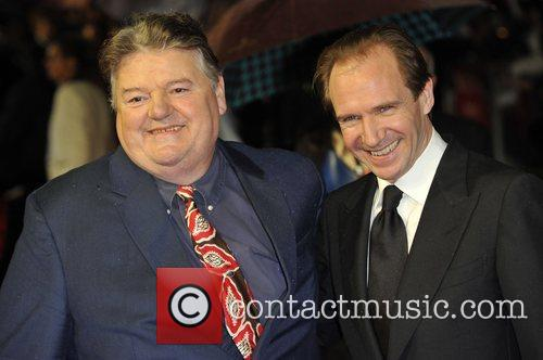 Robbie Coltrane and Ralph Fiennes 1