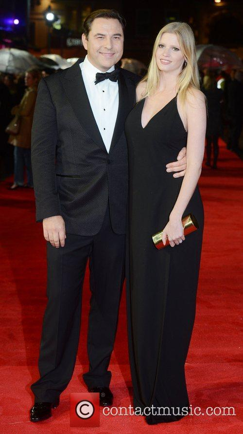 David Walliams, Lara Stone, Great Expectations, Odeon, Leicester Square, London and England 4