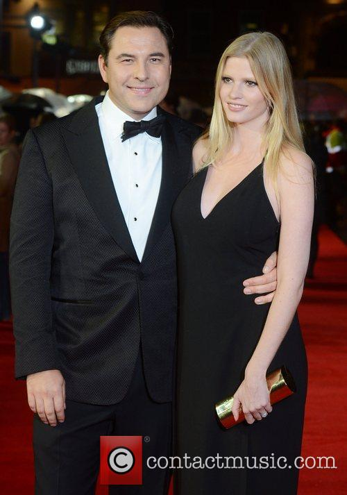 David Walliams, Lara Stone, Great Expectations, Odeon, Leicester Square, London and England 5