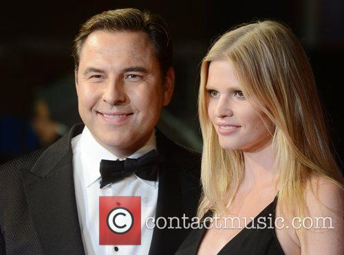 David Walliams, Lara Stone, Great Expectations, Odeon, Leicester Square, London and England 3