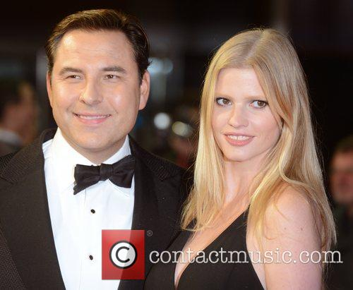 David Walliams, Lara Stone, Great Expectations, Odeon, Leicester Square, London and England 1