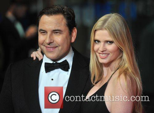 David Walliams and Lara Stone 4