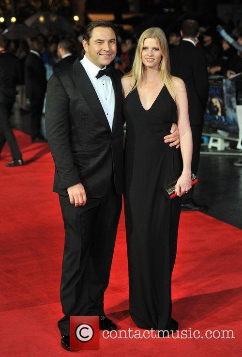 David Walliams and Lara Stone 6