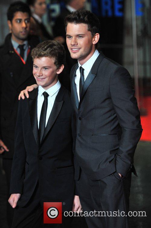 Toby Irvine and Jeremy Irvine 56th BFI London...