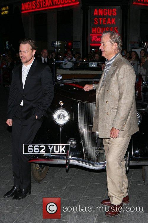 Bill Murray and Samuel West 56th BFI London...