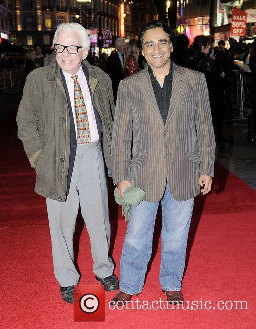 barry cryer and sanjeev bhaskar at the 4129870