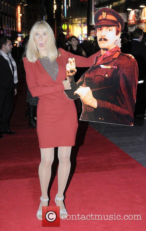 Carol Cleveland at the 56th BFI London film...