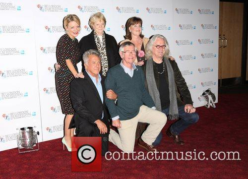 Sheridan Smith, Maggie Smith, Dustin Hoffman, Pauline Collins, Tom Courtney and Billy Connolly 6