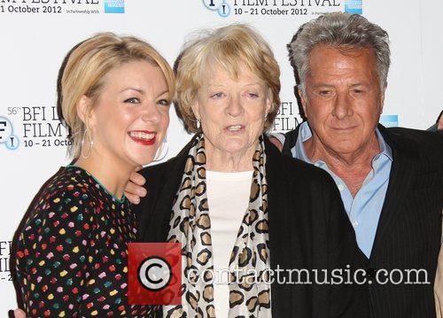 Sheridan Smith, Maggie Smith and Dustin Hoffman 10