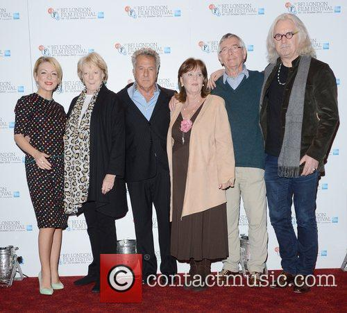 Billy Connolly, Pauline Collins, Maggie Smith, Tom Courtney, Sheridan Smith and Dustin Hoffman 3