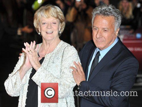 Dustin Hoffman and Dame Maggie Smith 1