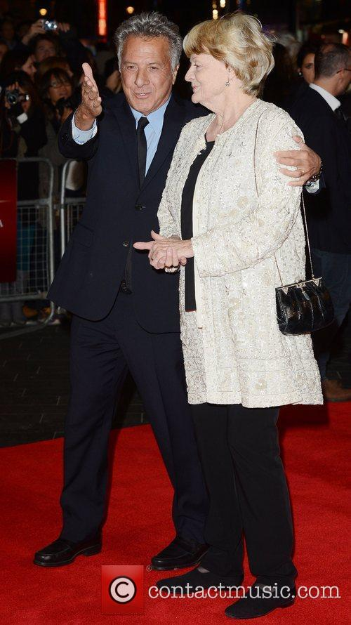 Dustin Hoffman, Maggie Smith, Quartet, Odeon, Leicester Square, London and England 4