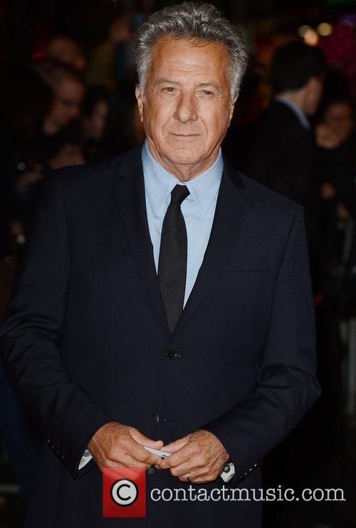 Dustin Hoffman, Quartet, Odeon, Leicester Square, London and England 9