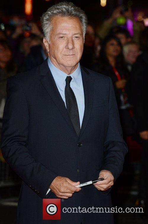 Dustin Hoffman, Quartet, Odeon, Leicester Square, London and England 8