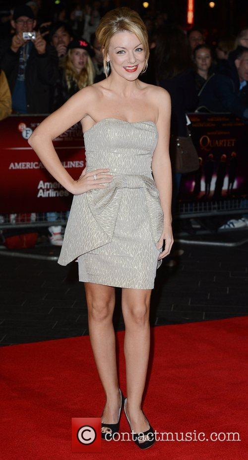 Sheridan Smith, Quartet, Odeon, Leicester Square, London and England 11