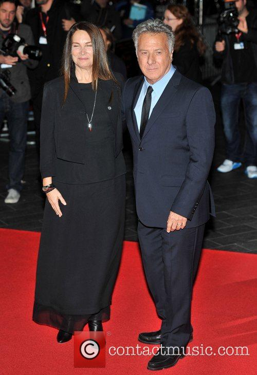 Dustin Hoffman and guest 56th BFI London Film...