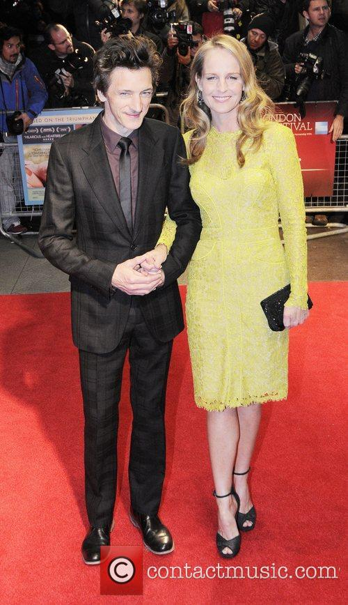 John Hawkes and Helen Hunt  56th BFI...