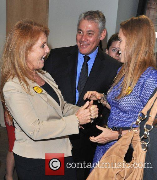 Sarah Ferguson and Princess Beatrice 2