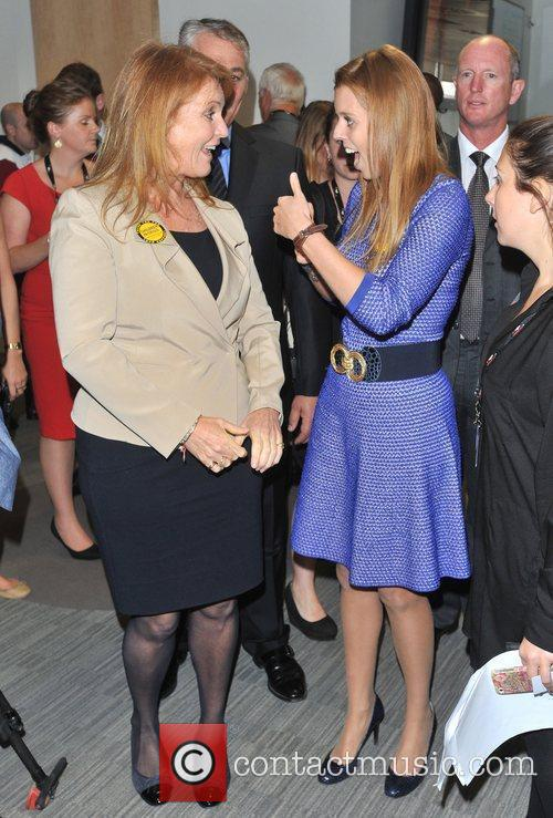 Sarah Ferguson and Princess Beatrice 1