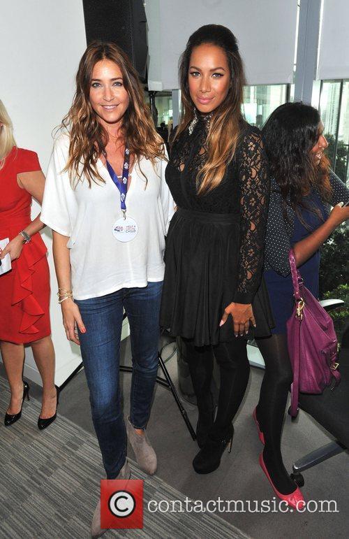 Leona Lewis and Lisa Snowdon BGC Annual Global...