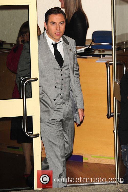 David Walliams at Britain's Got Talent studios London,...
