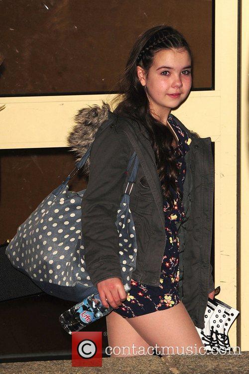 Lauren Thalia at Britain's Got Talent studios London,...