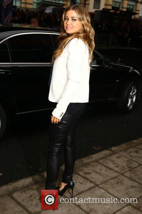 Carmen Electra arrives at the 'Britain's Got Talent'...