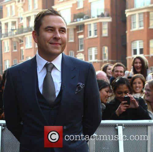 David Walliams Judges arriving at the 'Britian's Got...