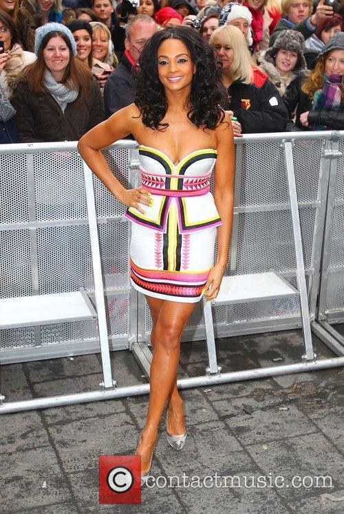 Alesha Dixon at the 'Britain's Got Talent' auditions...