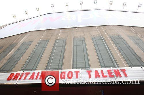 Atmosphere at the 'Britain's Got Talent' auditions at...