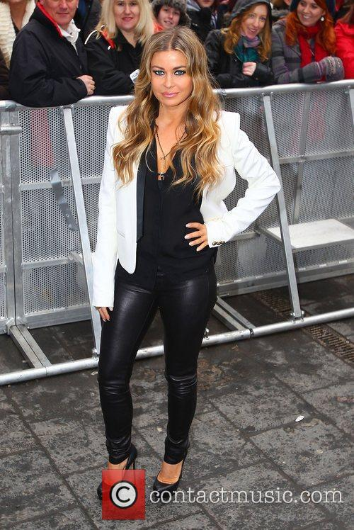 Carmen Electra at the 'Britain's Got Talent' auditions...