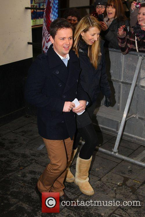 Declan Donnelly at the 'Britain's Got Talent' auditions...