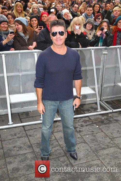 Simon Cowell and Hammersmith Apollo 9