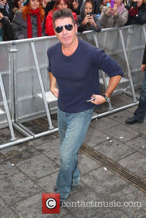 Simon Cowell and Hammersmith Apollo 11
