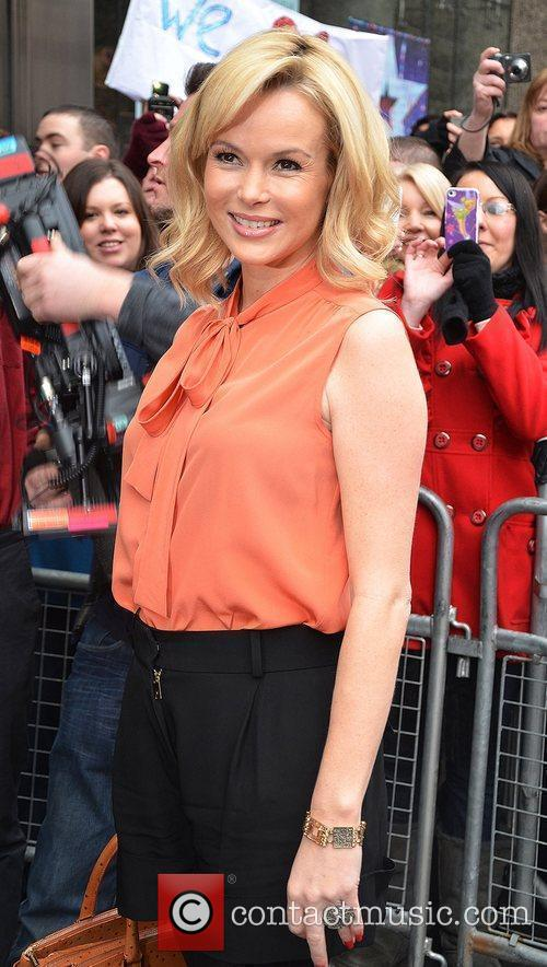 Amanda Holden arrives for the 'Britain's Got Talent'...