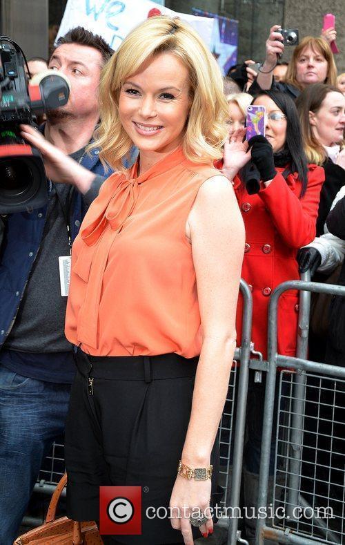 Arrives for the 'Britain's Got Talent' Edinburgh auditions