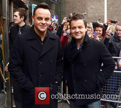 Ant and Dec arrive for the 'Britain's Got...