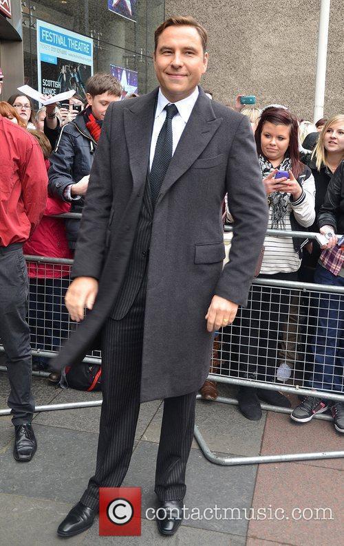 David Walliams arrives for the 'Britain's Got Talent'...
